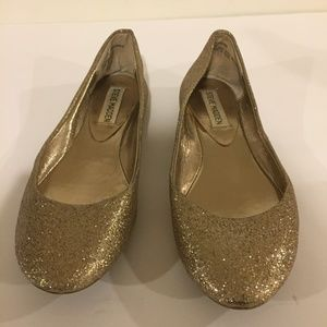 Steve Madden (Glitter Gold) Flats